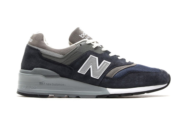 Image of New Balance Made in USA M997 Navy/Grey
