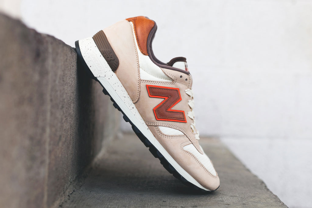 Image of New Balance Made in USA M1300 Creme/Brown