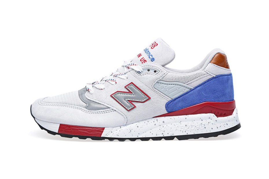 Image of New Balance Made in USA M998BT Cement/Red/Royal