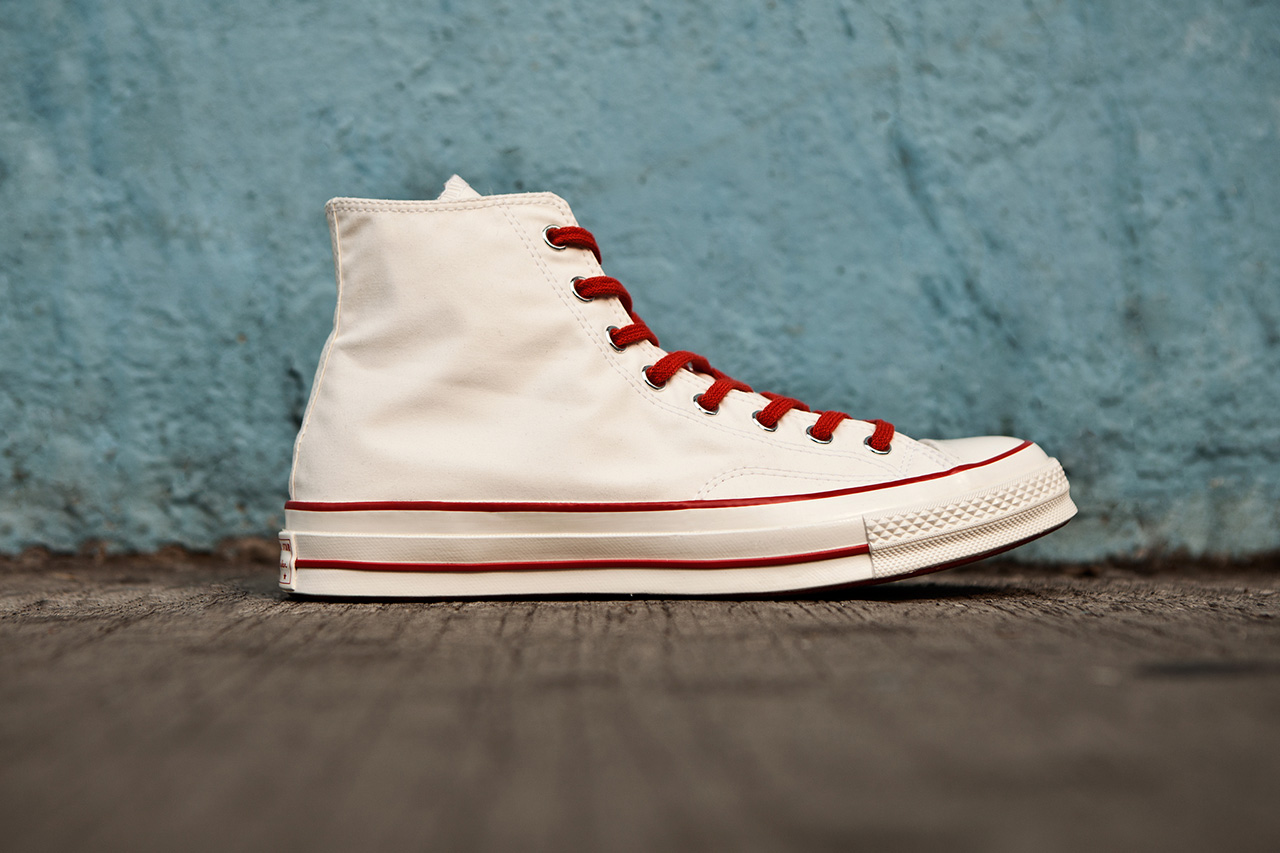"Image of Nigel Cabourn x Converse First String 1970s Chuck Taylor All Star Hi ""Ventile"""