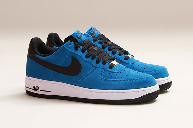 Image of Nike Air Force 1 Military Blue/Black-White