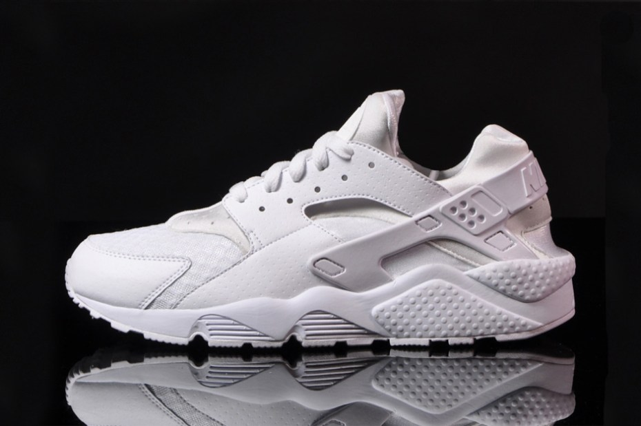 Image of Nike Air Huarache White/White-Pure Platinum