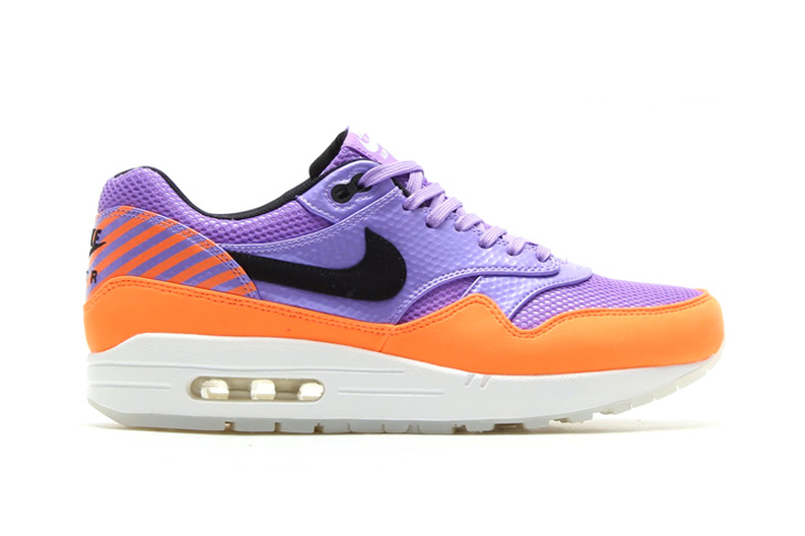 Image of Nike Air Max 1 FB Premium QS Atomic Violet/Black-Total Orange