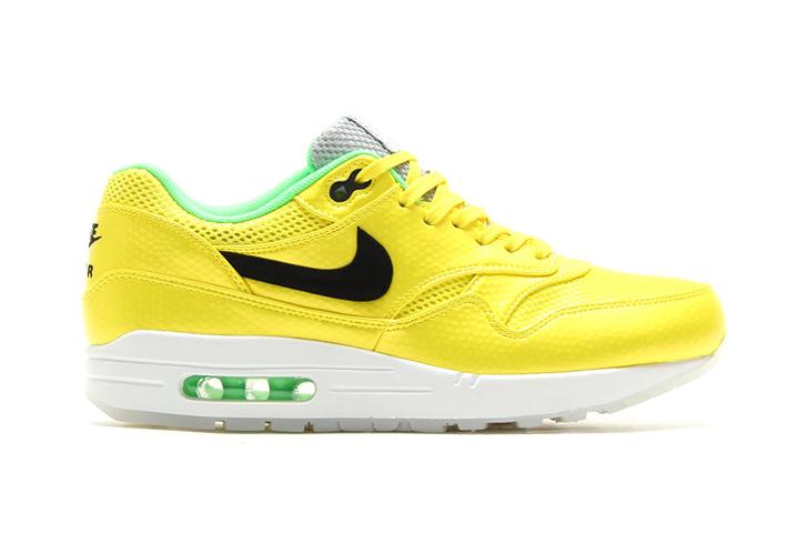 "Image of Nike Air Max 1 FB Premium QS ""Vibrant Yellow"""