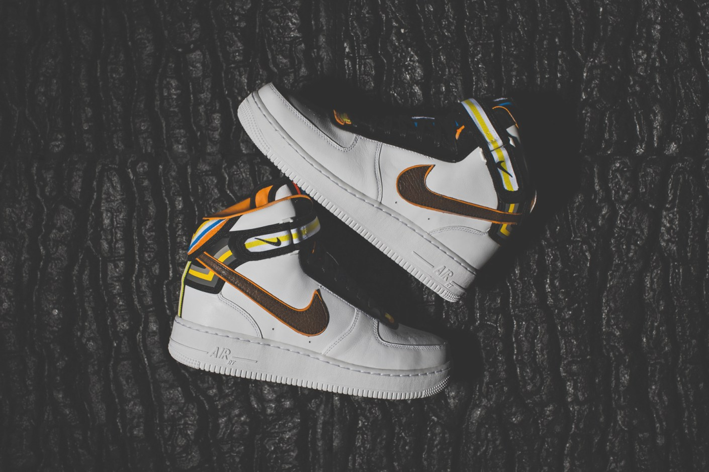 Image of A Closer Look at the Nike + R.T. Air Force 1 Mid