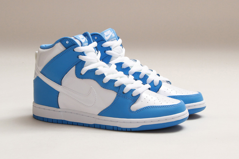 """Image of Nike SB 2014 Dunk High Premium """"March Madness"""" Pack"""