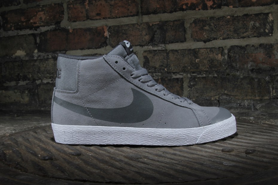 "Image of Nike SB Blazer Premium SE ""Cool Grey"""
