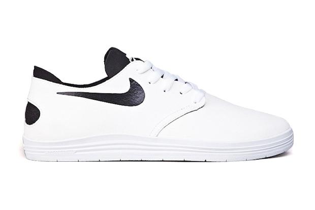 Image of Nike SB Lunar One Shot White/Black
