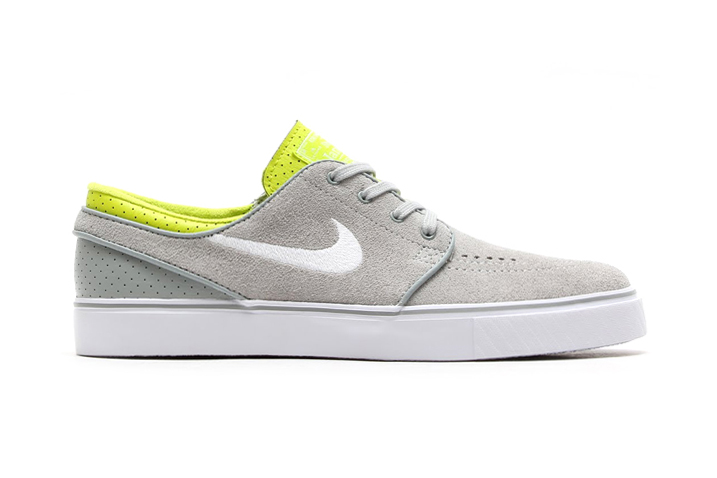 Image of Nike SB Zoom Stefan Janoski Base Grey/White-Venom Green