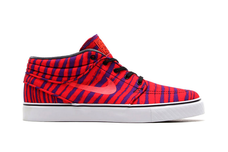 "Image of Nike SB Zoom Stefan Janoski Mid PRM ""Zebra"" Pack"
