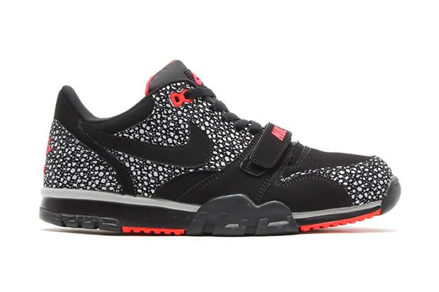 """Image of Nike Air Trainer 1 Low ST """"Black/Safari"""""""