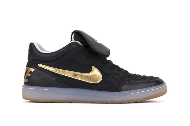 Image of Nike Tiempo '94 Mid Ivory/Gold & Black/Gold