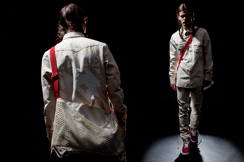 "Image of OFF-WHITE c/o VIRGIL ABLOH 2014 Spring/Summer ""Children of the Sun"" Editorial by Slam Jam Socialism"