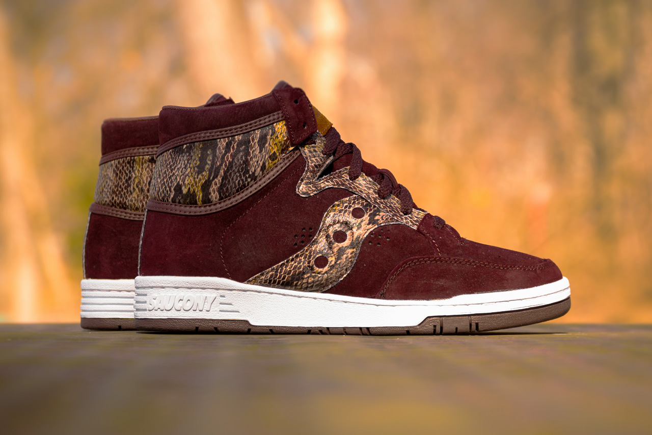 "Image of Packer Shoes x Saucony Hangtime ""Brown Snake"""