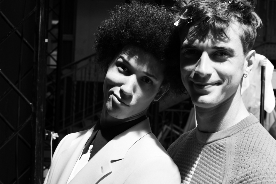 Image of Paul Smith 2014 Spring/Summer Show Backstage Visuals