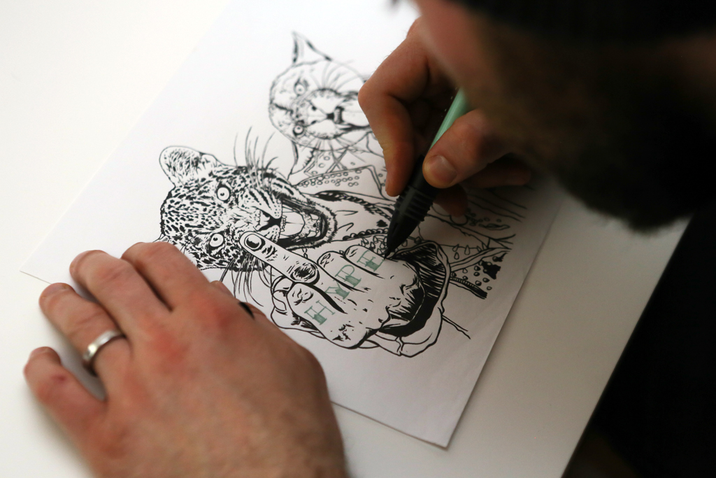 Image of Red Bull Curates Protégés x HYPEBEAST Presents Pen & Paper with Rugman