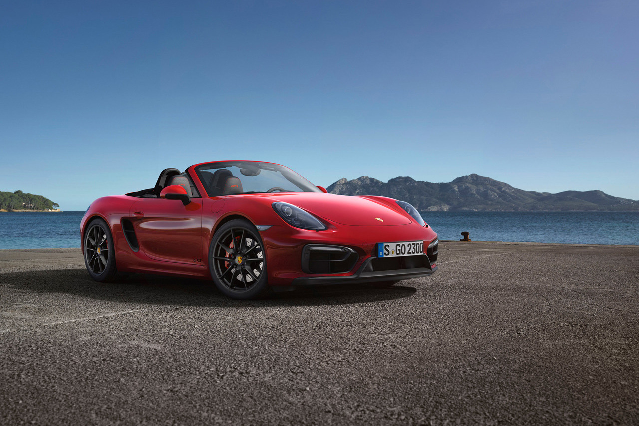 Image of Porsche Unveils New Cayman GTS and Boxster GTS