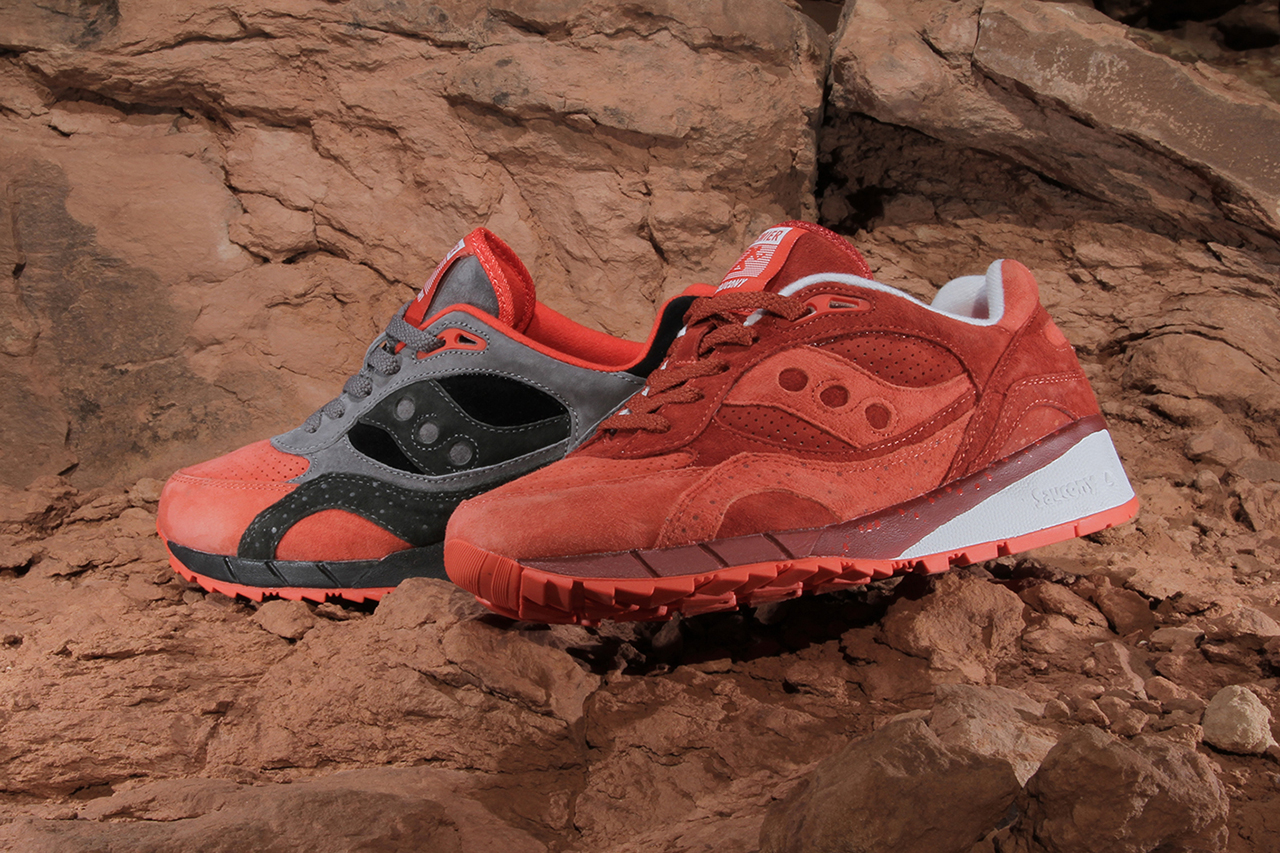 "Image of Premier x Saucony Shadow 6000 ""Life on Mars"" Pack"