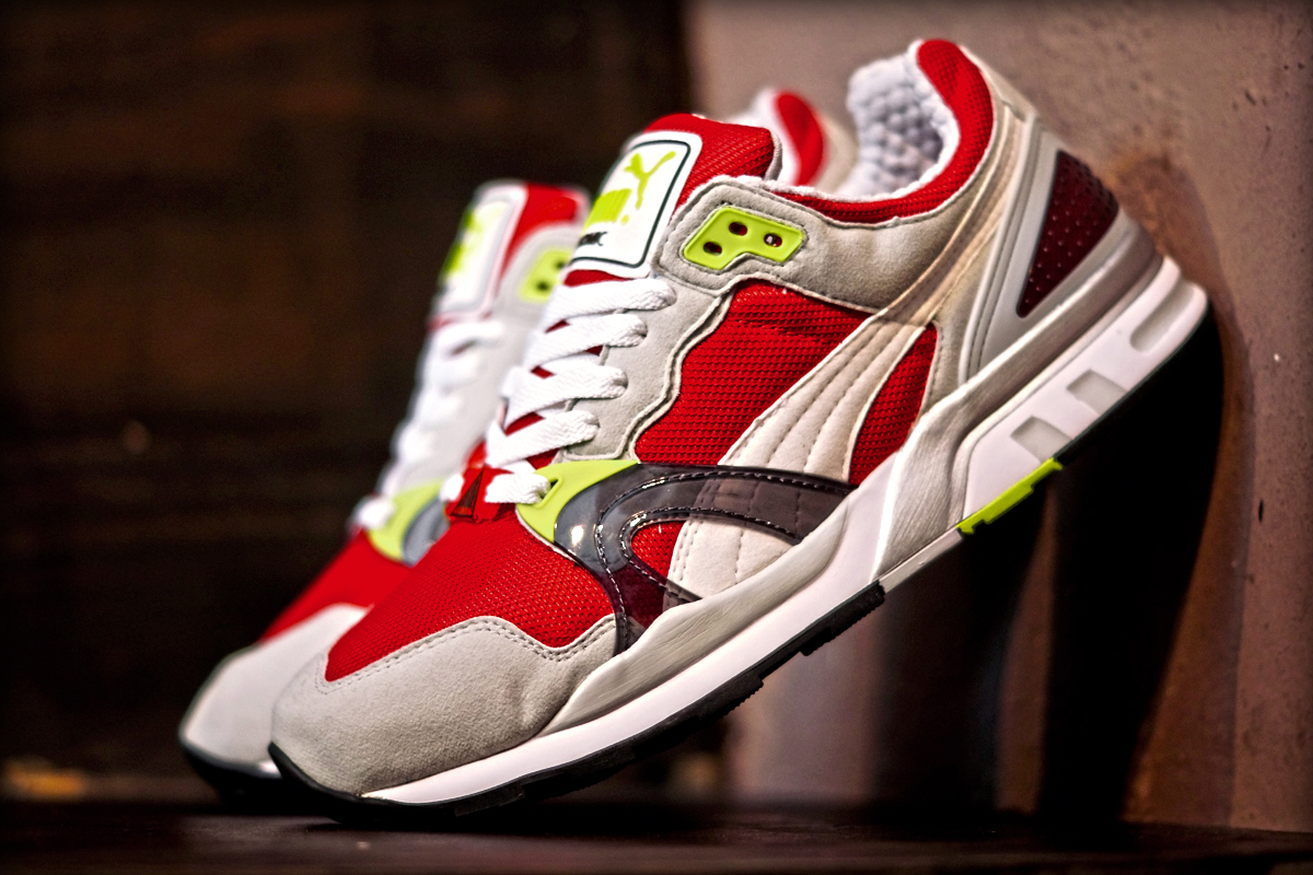 Image of PUMA Trinomic XT2 Plus High Risk Red/Glacier Grey