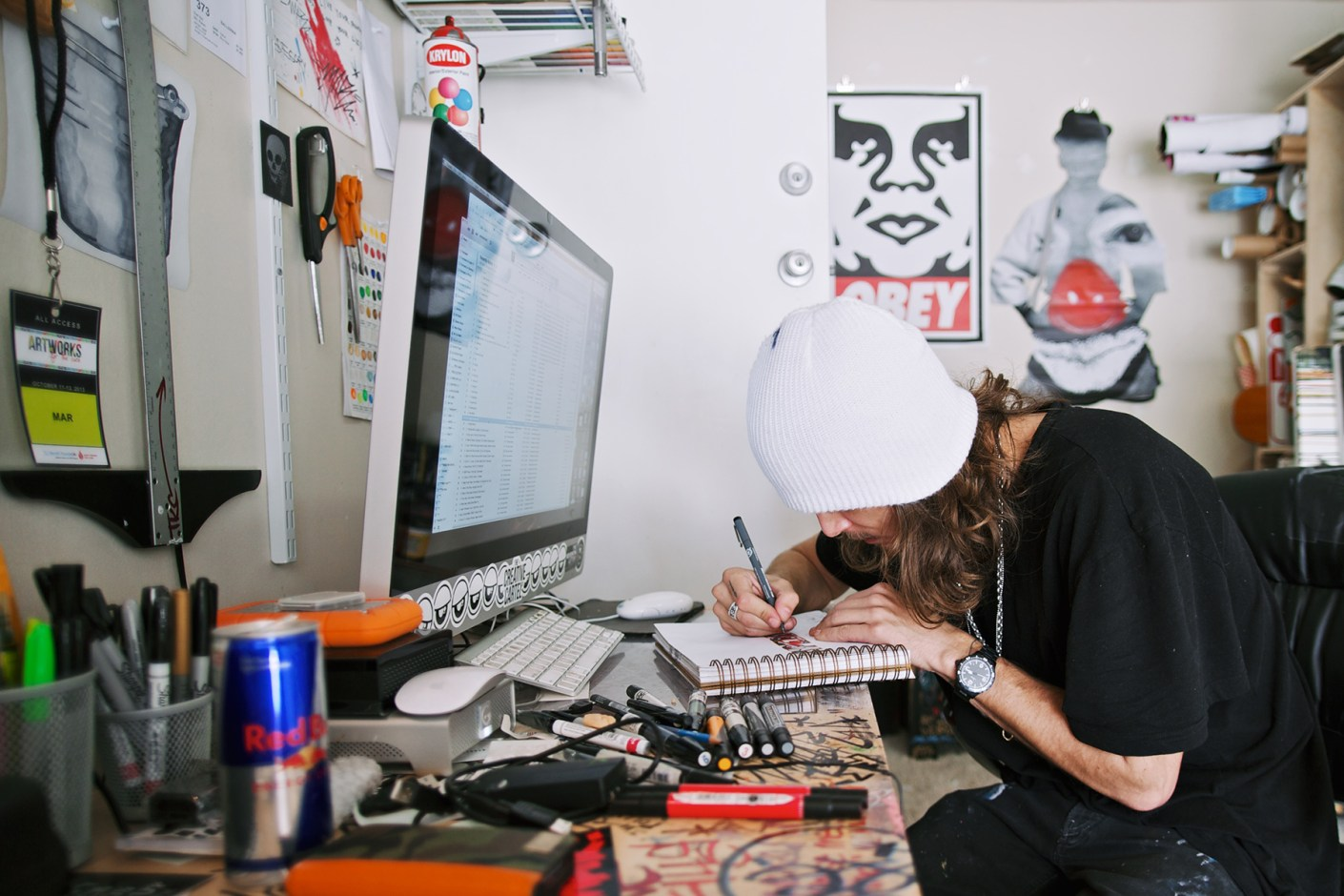Image of Red Bull Curates Protégés x HYPEBEAST Presents Pen & Paper with MAR