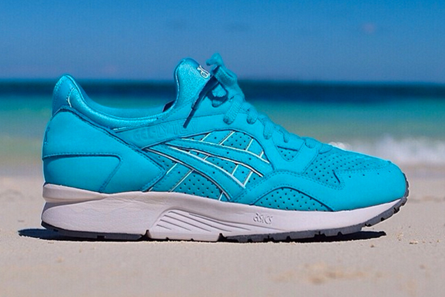 "Image of Ronnie Fieg x ASICS Gel Lyte V ""Cove"" Preview"