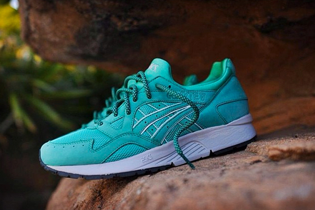 "Image of Ronnie Fieg x ASICS Gel Lyte V ""Mint Leaf"" Preview"