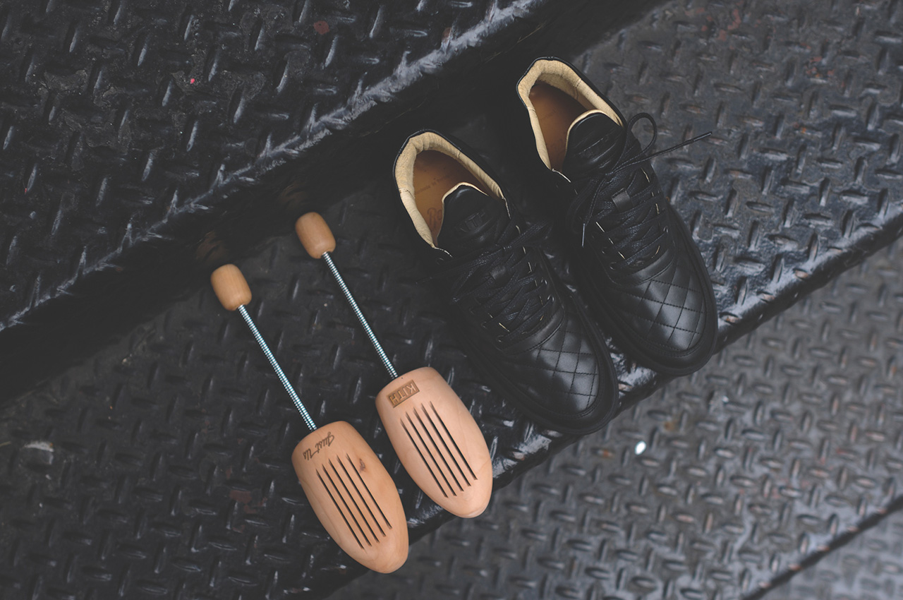 Image of Ronnie Fieg x Filling Pieces Quilted RF-Mid Preview
