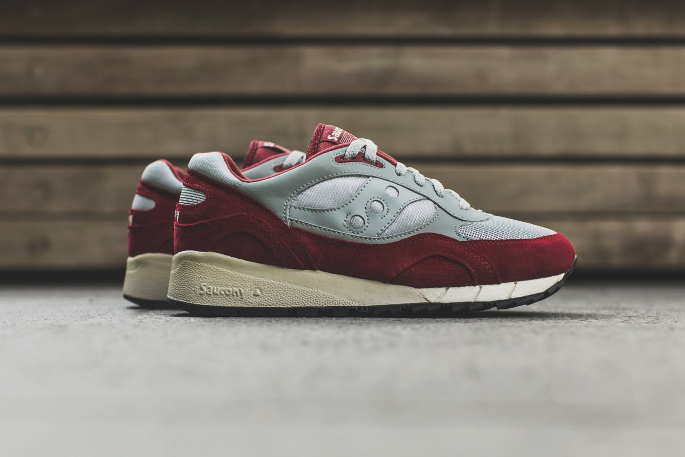 Image of A Closer Look at the Saucony Shadow 6000 Grey/Red