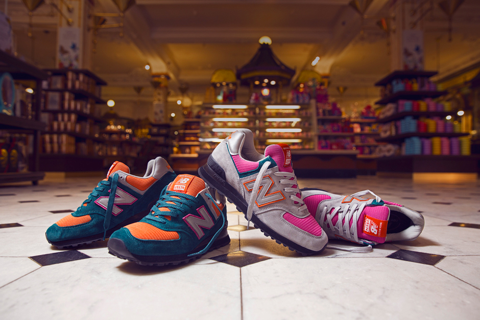 Image of size? x New Balance Made in USA 574 Harrods Exclusive Pack