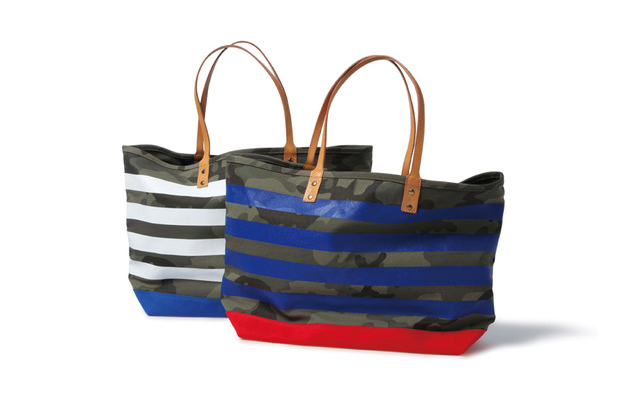 Image of SOPHNET. Camouflage Border Tote