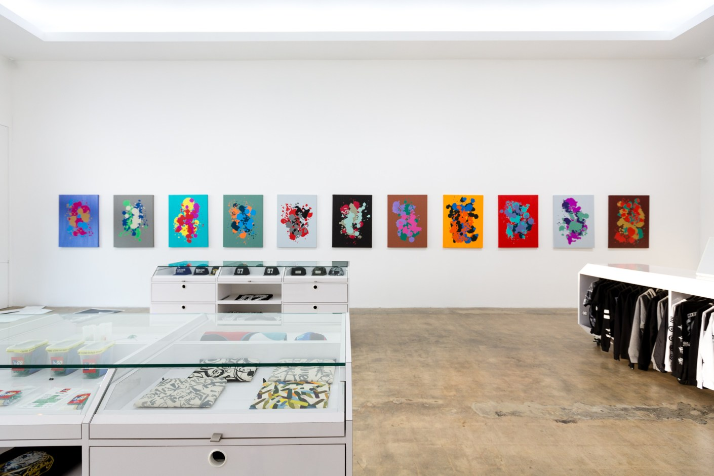 "Image of Stash ""SPRAYED IN FULL"" Exhibition @ The Seventh Letter"
