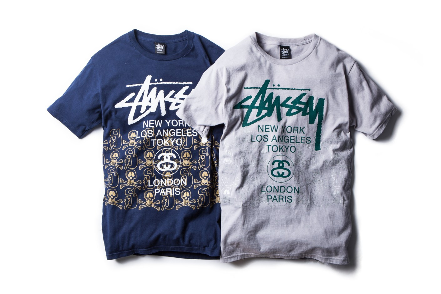 """Image of Stussy 2014 Spring/Summer """"Skulls Tee"""" Collection"""