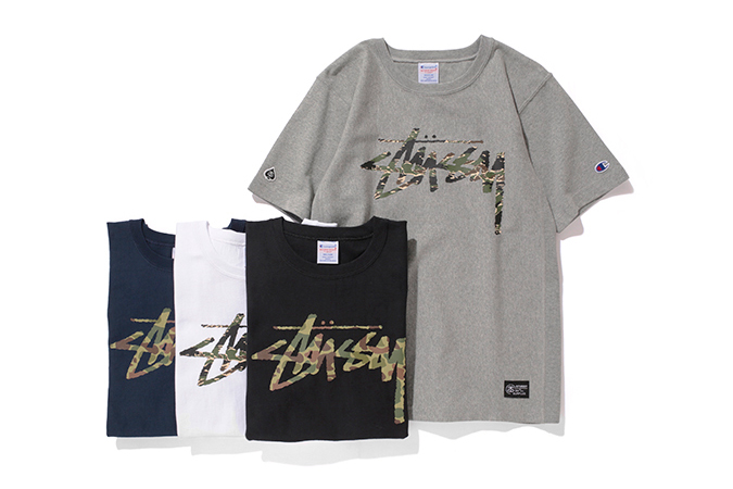 "Image of Stussy x Champion Japan 2014 Spring/Summer ""Reverse Weave"" Collection"