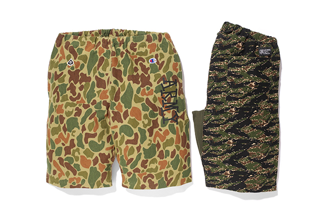 """Image of Stussy x Champion Japan 2014 Spring/Summer """"Reverse Weave"""" Collection"""