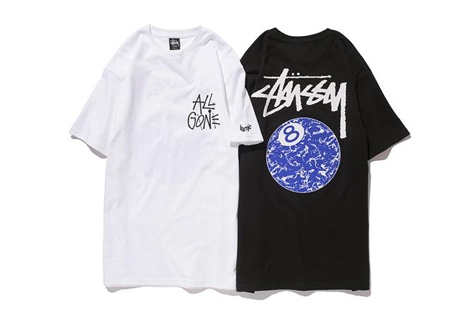 "Image of Stussy x La MJC ""All Gone 8Ball"" T-Shirt"