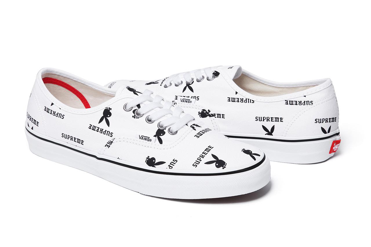 Image of Supreme x Playboy x Vans 2014 Spring/Summer Footwear Collection