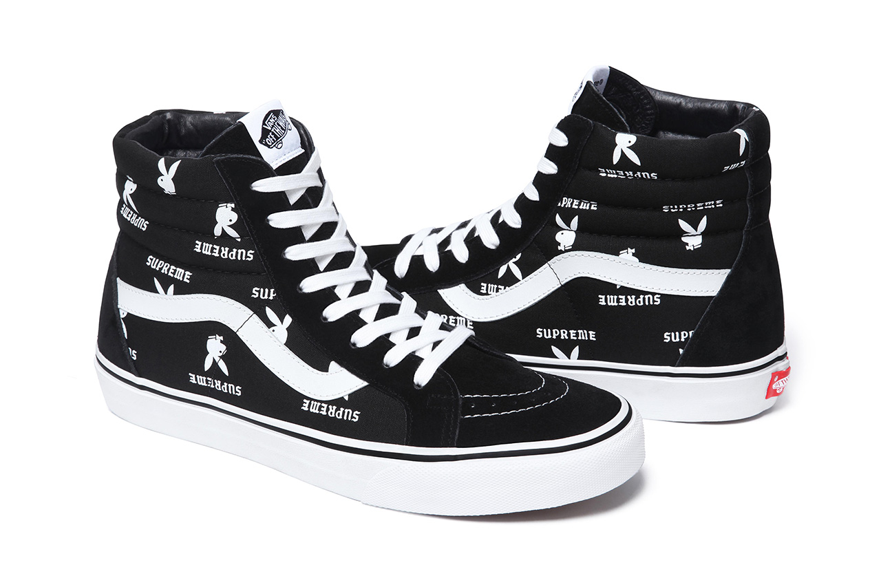 Image of Supreme x Playboy x Vans 2014 Spring/Summer Footwear Collection