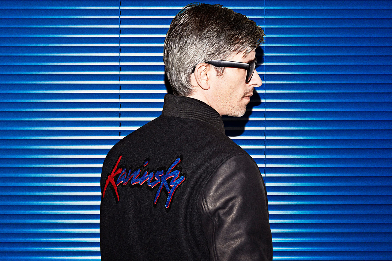 Image of Kavinsky x Surface to Air Varsity Jacket