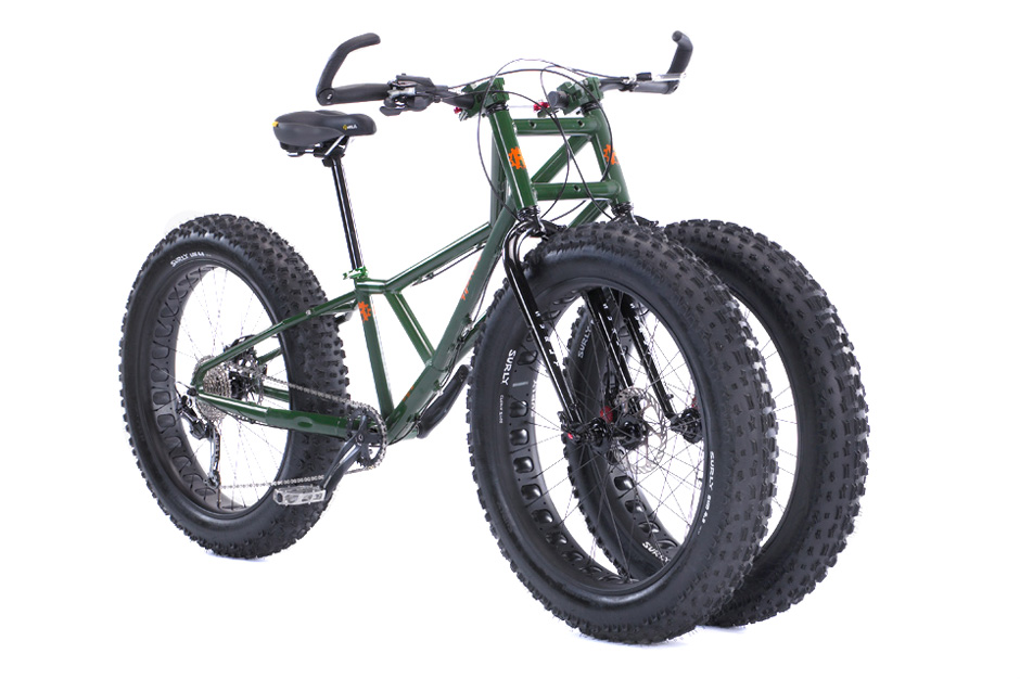 Image of The Adult Big Wheel: Rungu's Juggernaut Bike