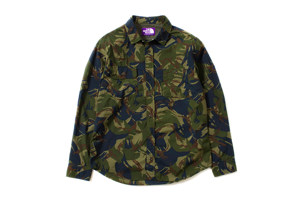"Image of THE NORTH FACE PURPLE LABEL 2014 Spring/Summer ""Camouflage"" Collection"