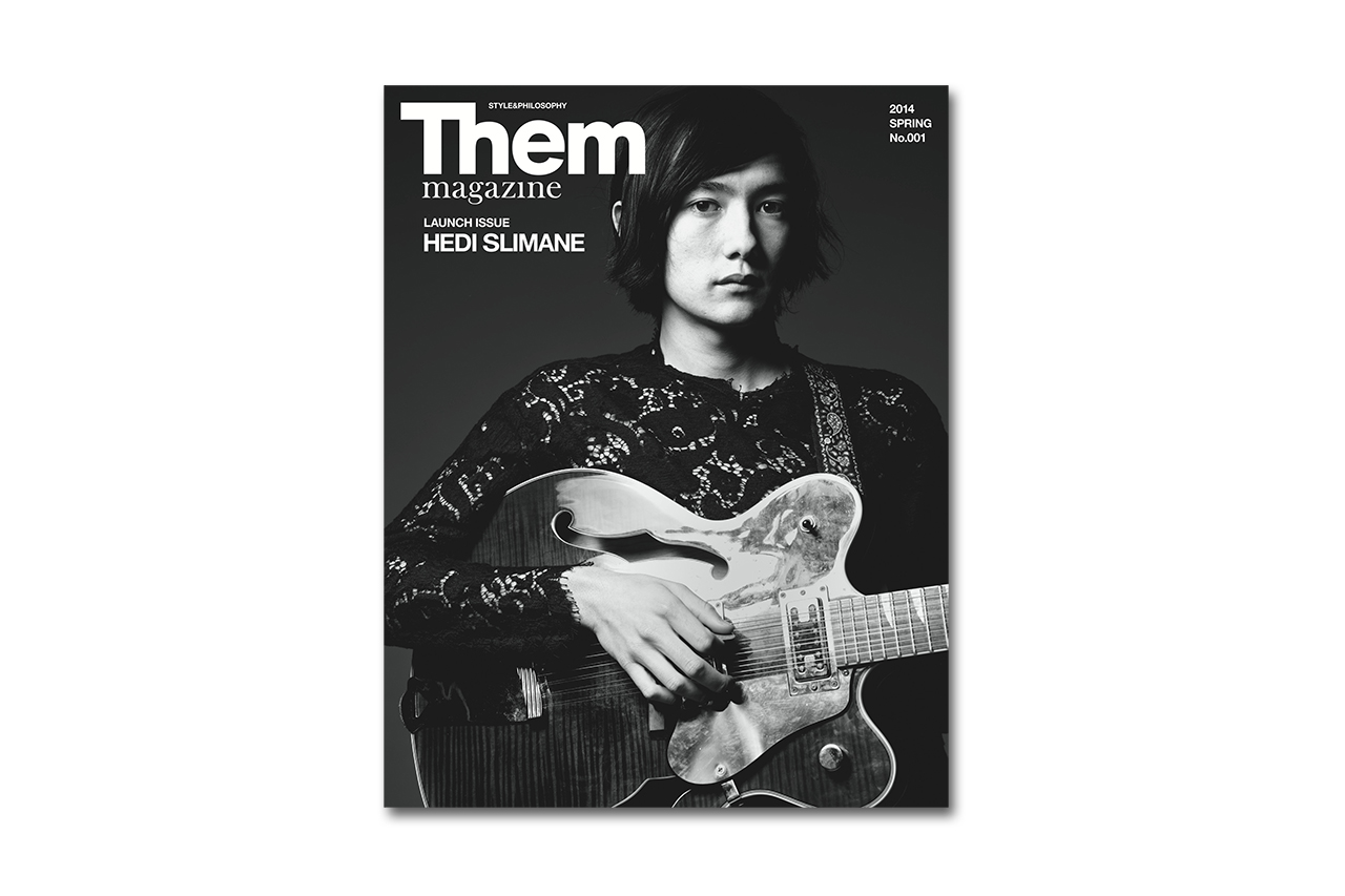 Image of Them Magazine Launches Issue #1 with Hedi Slimane