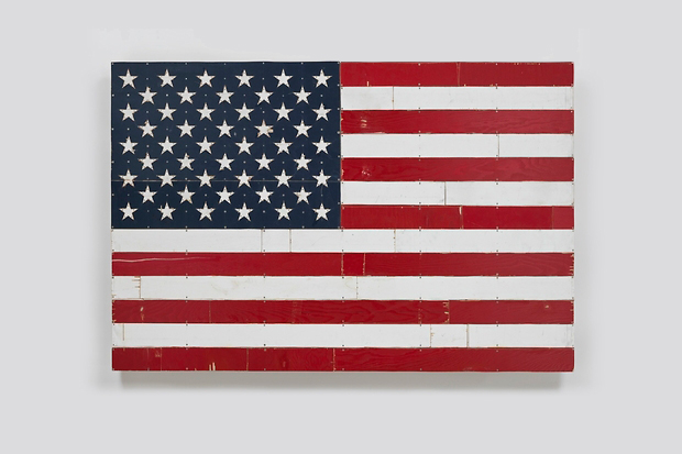 "Image of Tom Sachs ""American Handmade Paintings"" @ Galerie Thaddaeus Ropac"