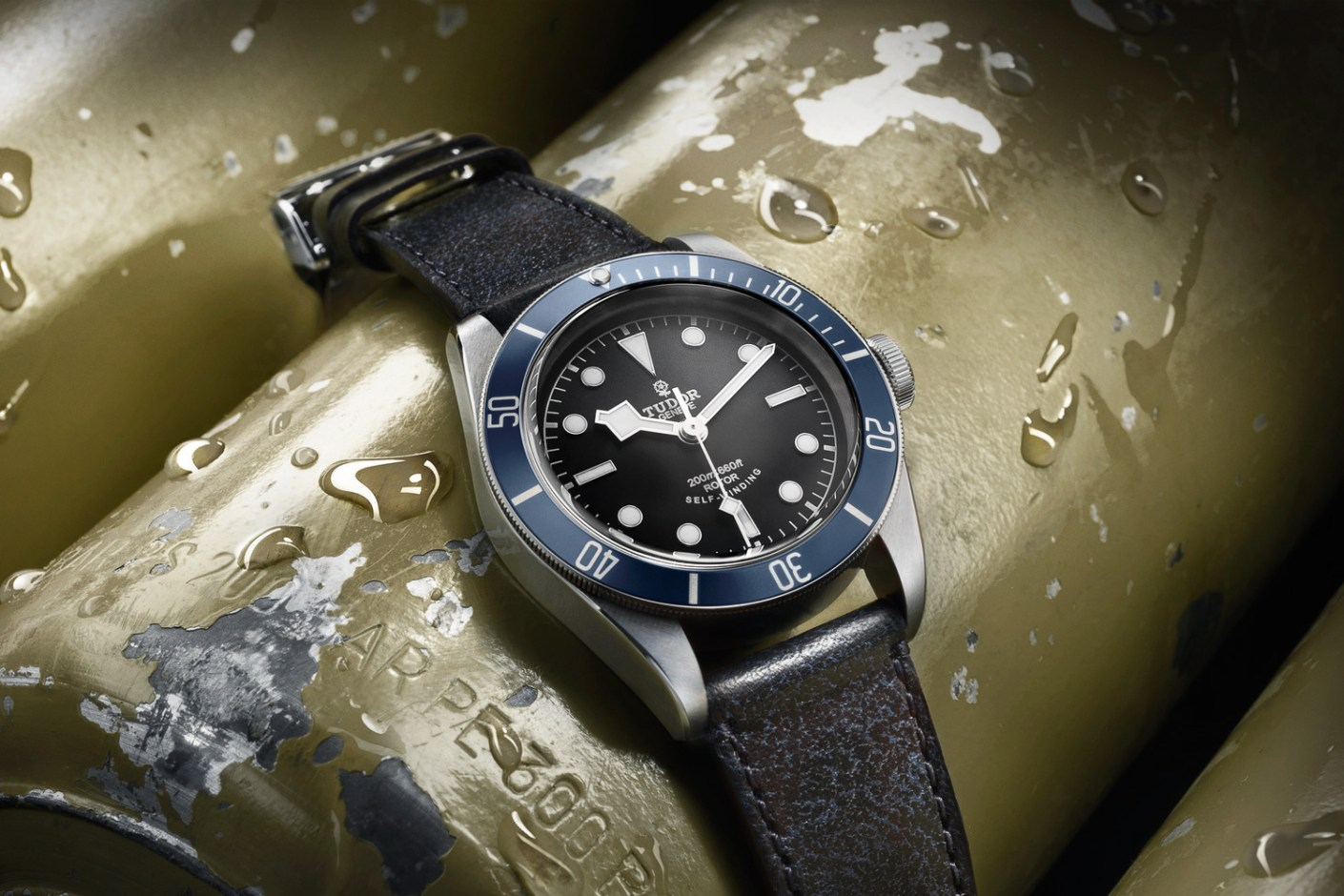 Image of Tudor Debuts Heritage Black Bay in Midnight Blue