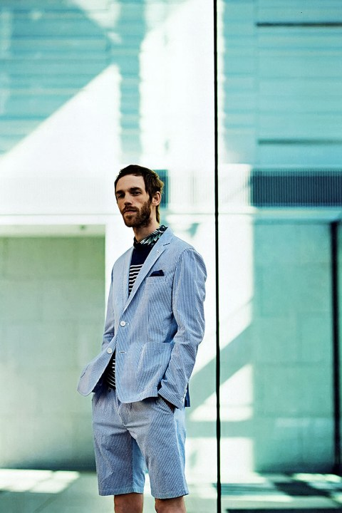 Image of uniform experiment 2014 Spring/Summer Editorial by GRIND