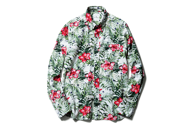 Image of uniform experiment STAR FLOWER RAYON B.D SHIRT