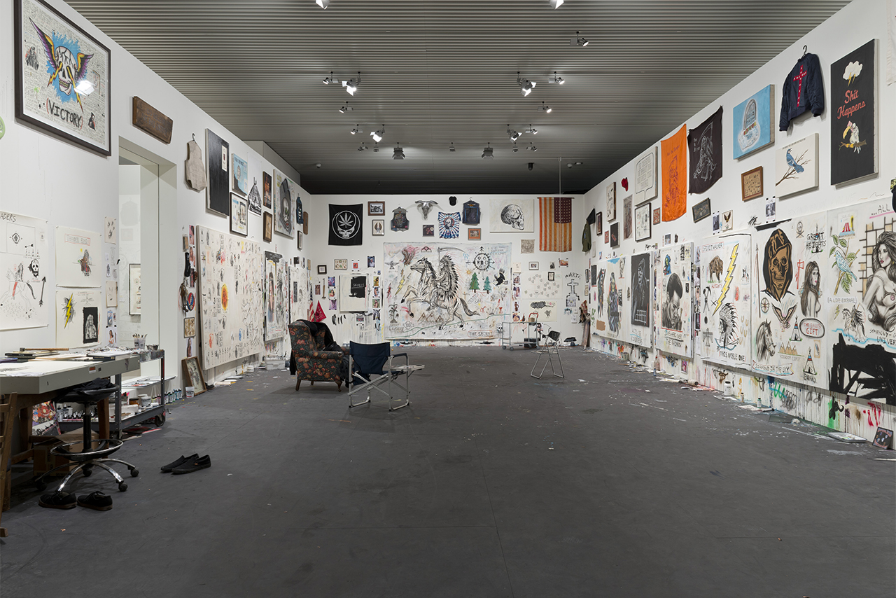 "Image of Wes Lang ""The Studio"" @ ARoS Museum"