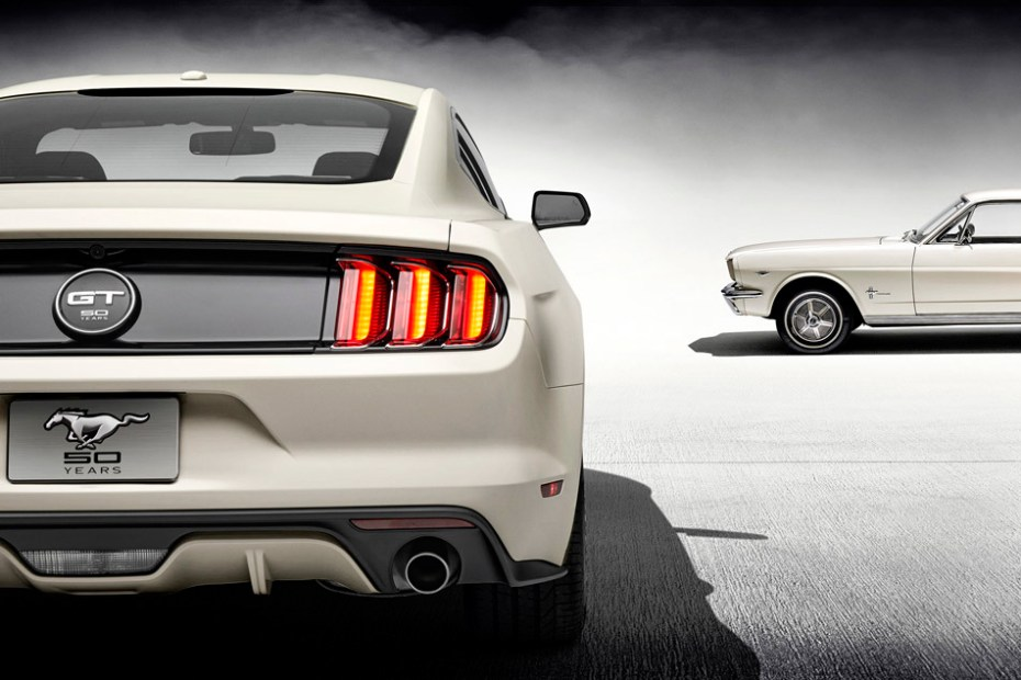 Image of 2015 Ford Mustang 50th Anniversary Edition
