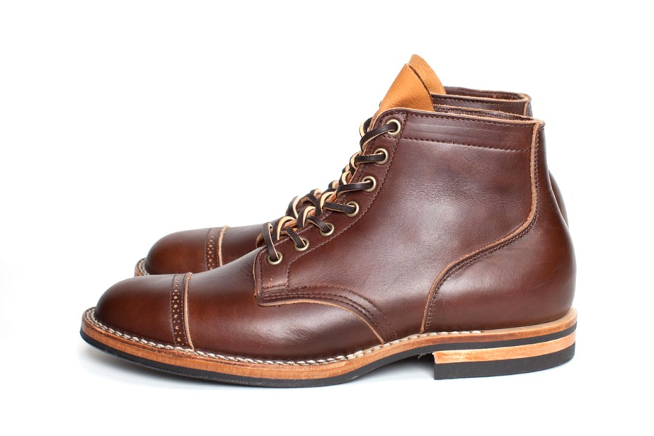 "Image of 3sixteen x Viberg ""Carolina Service"" Boot"
