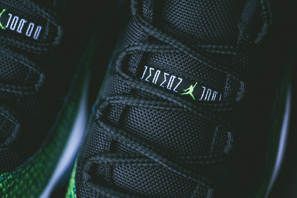 "Image of A Closer Look at the Air Jordan 11 Low ""Nightshade"""