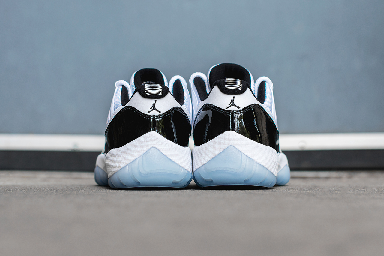 "Image of A Closer Look at the Air Jordan 11 Retro Low ""Concord"""